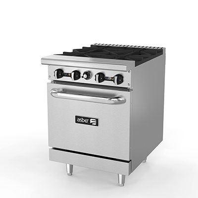 Estufa con horno linea premium aer 4 24 cookinox for Estufa con horno precio