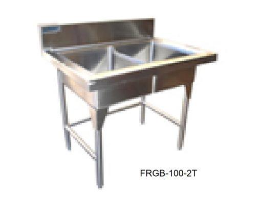 Fregadero para bar dos tarjas minox