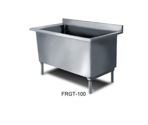 Fregadero una tina para ollas minox