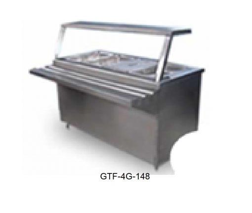 Mesa fria a hielo tipo gabinete minox