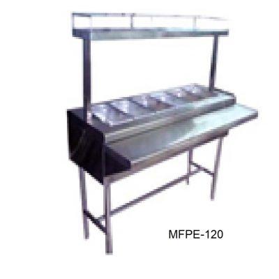 Mesa fria a hielo para ensaladas minox