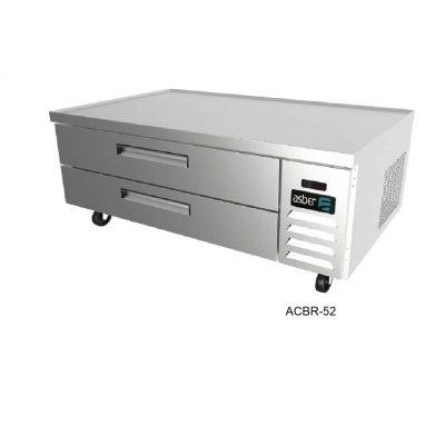 Base refrigerada para chef con cajones asber