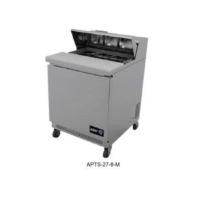 Mesa refrigerada para ensaladas asber