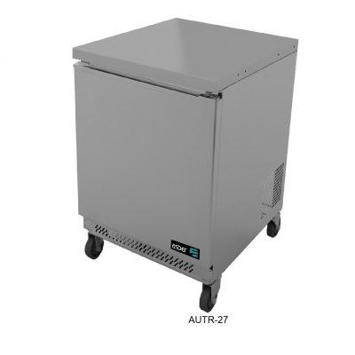 Mesa refrigerada o congelados bajo mostrador asber