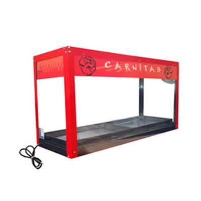 Exhibidor de Carnitas