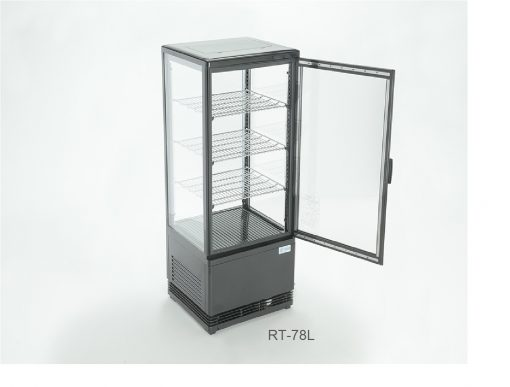 Refrigerador panorámico puerta recta migsa.