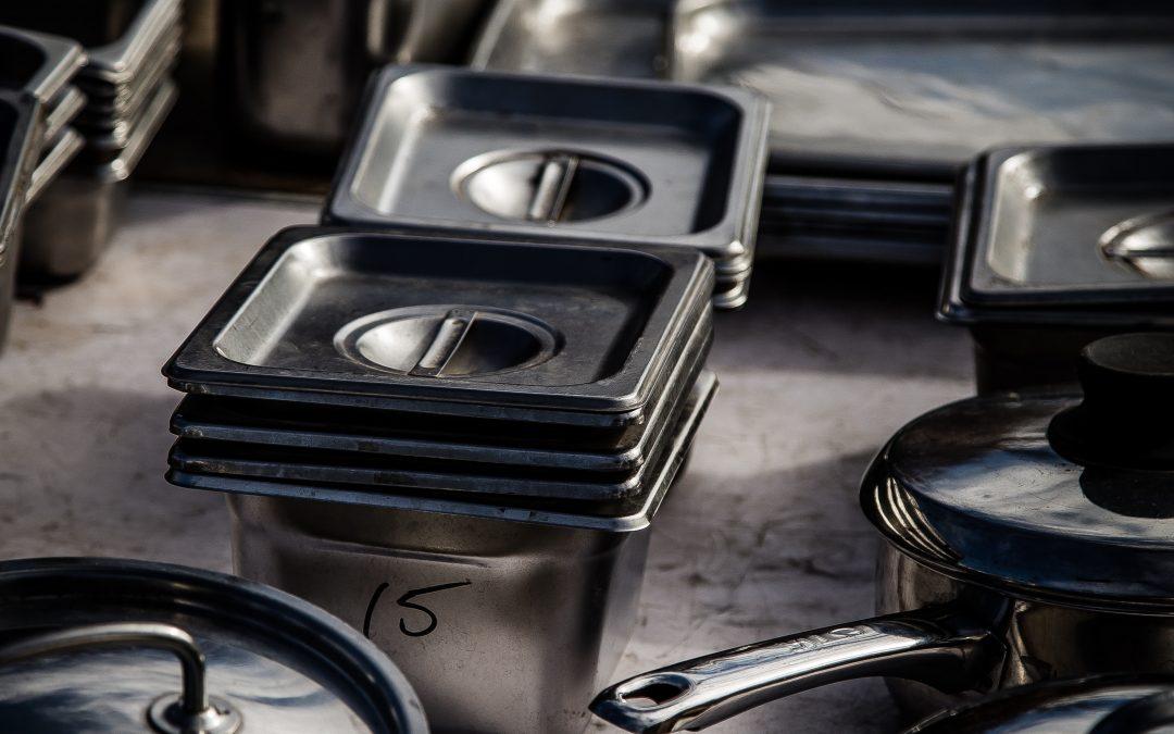 Fabricación de muebles en acero inoxidable