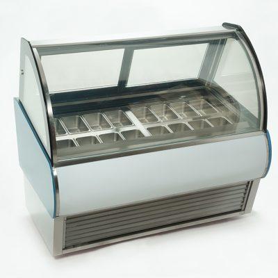 Vitrina para helados