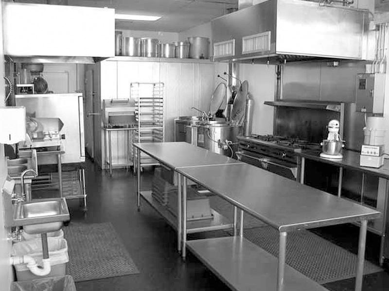 Áreas de una cocina industrial