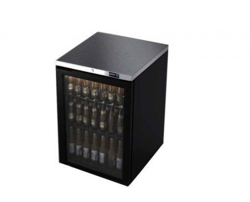 Refrigerador de contra barra en vinyl negro asber R290