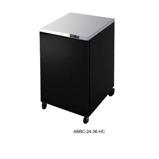Refrigerador contrabarra en vinyl linea slim r290 asber