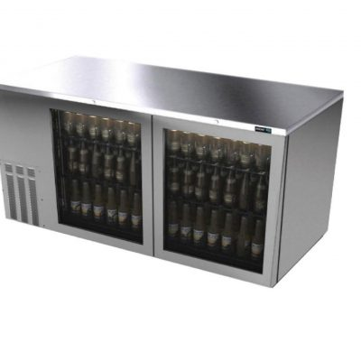 Refrigerador contrabarra en A.I asber linea slim R290