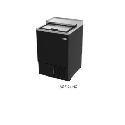 Glass froster en vinyl negro y A.I asber R290