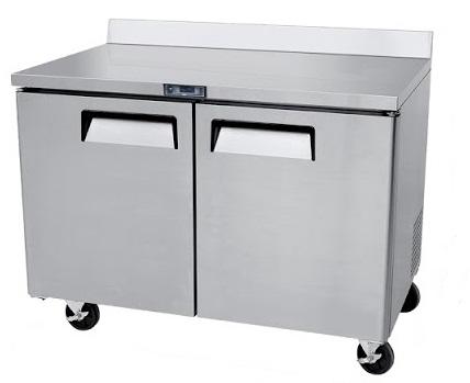 Mesa de trabajo con base refrigerada atosa sobrinox