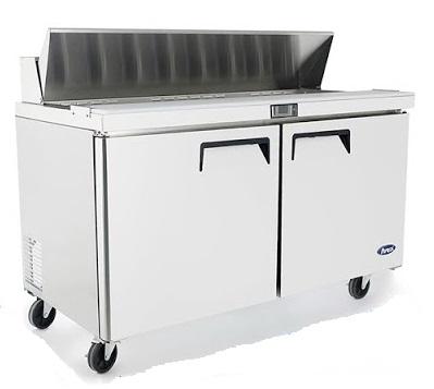 Mesa refrigerada preparación de sandwiches y ensaladas atosa sobrinox