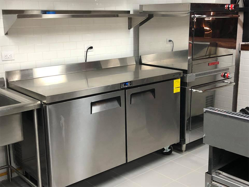 diseño de una cocina industrial