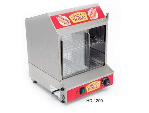Cocedor de salchicha y calentador de pan migsa