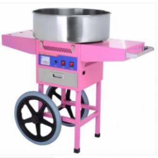 Fabricadora de algodones de azucar con carrito