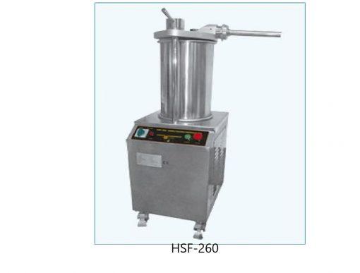 Embutidora hidraulica manual y electrica migsa