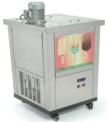Fabricadora de paletas para 1, 2, y 4 moldes migsa