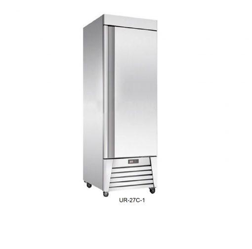 Refrigerador vertical en acero inoxidable migsa
