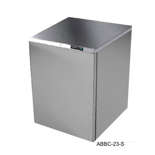 Refrigerador contra barra en inox r290 asber