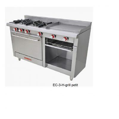 Estufa EC-3-H grill petit coriat