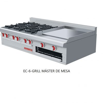 Estufa EC-6-GRILL master de mesa coriat