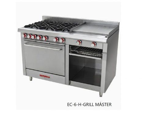 Estufa EC-6-H-Grill master coriat