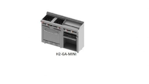 Estufa comercial h2-ga mini delta
