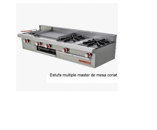 Estufa multiple master de mesa coriat