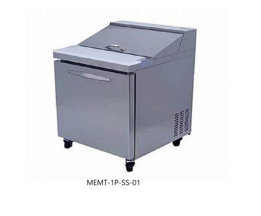 Mesa refrigerada para ensaladas mega top icehaus