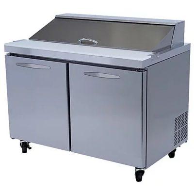sas refrigeradas para ensaladas mega top icehaus