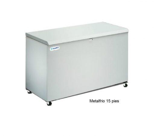 Congelador tapa cofre Metalfrio e icehaus