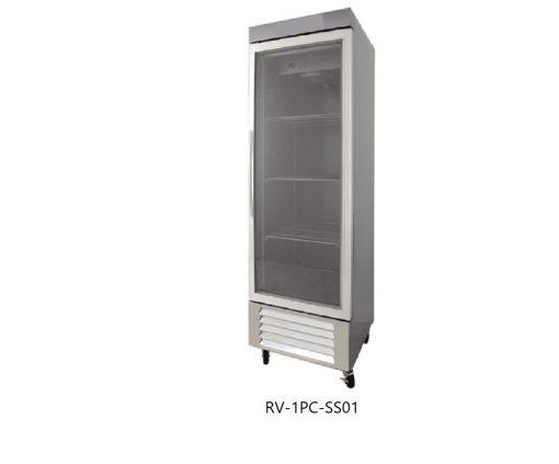 Refrigerador puertas de cristal icehaus