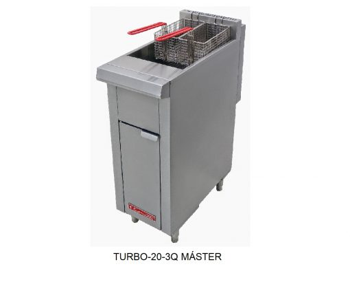 Freidora turbo 20-3q master coriat