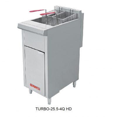 Freidora heavy duty turbo coriat