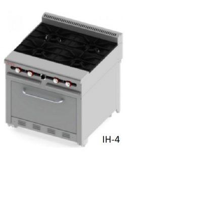 Estufa industrial IH-4 I4-S linea pesada delta