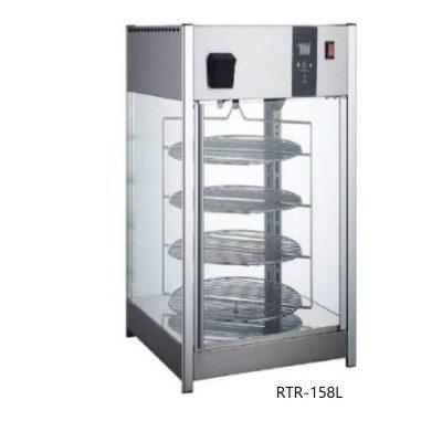 Exhibidor y calentador de pizza con humedad migsa