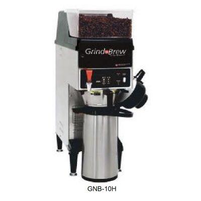 Cafetera con molino para americano grindmaster