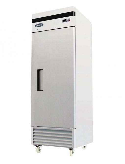 Refrigerador vertical puerta solida atosa sobrinox