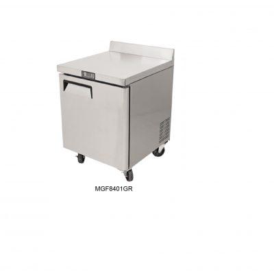 Mesa refrigerada bajo barra atosa