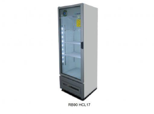 Refrigerador vertical puerta cristal Metalfrio