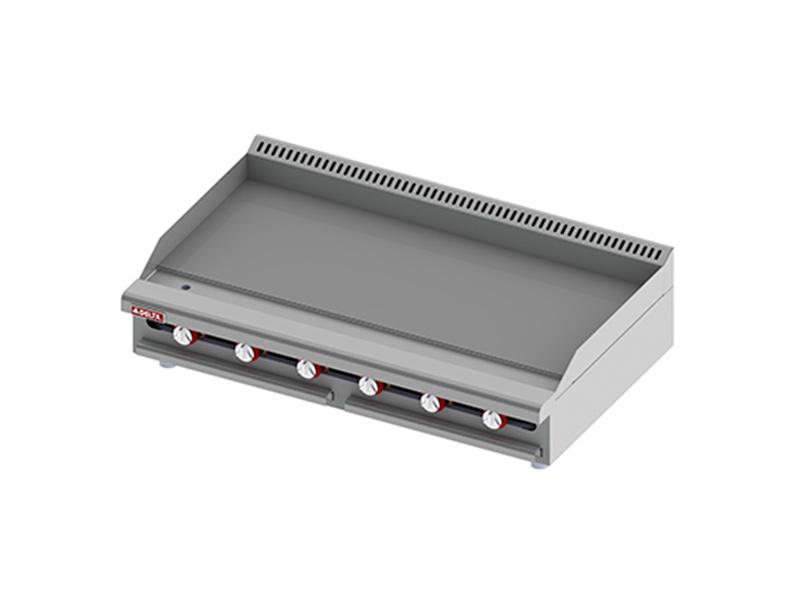 tipos de plancha de cocina industrial