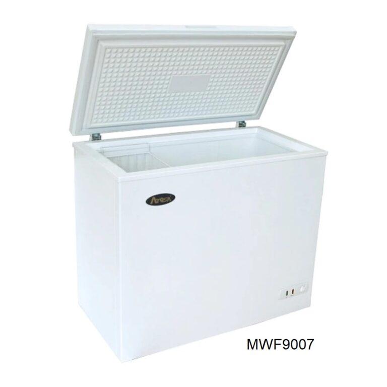 Congelador horizontal tapa de cofre atosa