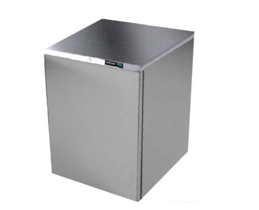 Refrigerador contrabarra acero inox linea slim asber